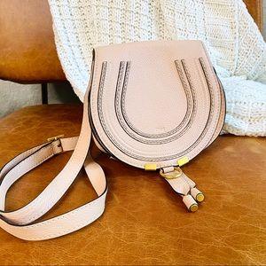 Chloe Mini Marcie Blush Crossbody Bag
